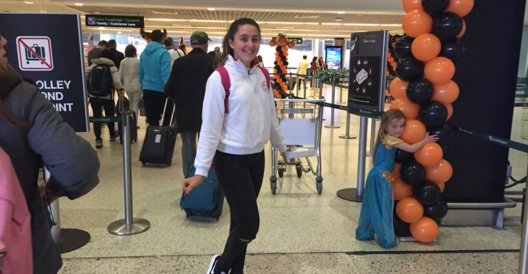 Naia returning to Spain for Halloween