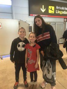 Welcoming the latest Irish student to Spain.