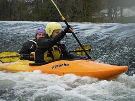 Kayak en Cork.